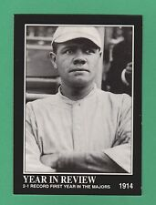 1992 Megacards Year In Review Babe Ruth New York Yankees #6