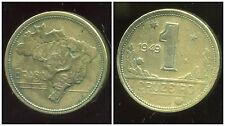BRESIL  1 cruzeiro 1949