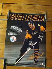 "Mario Lemieux Poster Pittsburgh Penguins 18 X 24"" Fair Play Shoppers Drug Mart"