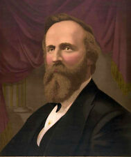 Stunning Oil painting America PRESIDENT -  Rutherford B.Hayes