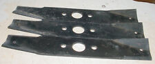 """LOT OF 3 LAWN MOWER TRACTOR BLADE FOR SEARS CRAFTSMAN ROPER 42"""" PARTS 95-010"""
