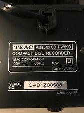 Teac Cdrw890 Cd Recorder