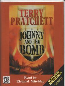 JOHNNY AND THE BOMB (Johnny Maxwell) Terry Pratchett, UNABRIDGED 4-Cassette Set