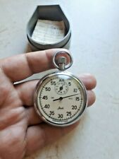 "Shockproof Soviet Ussr Russian Stopwatch ""Agat"" mechanical."