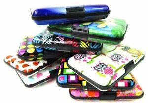 Unisex Credit Card ID Holder Case Wallet Purse RFID Protection Metal Aluminium