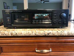 Onkyo Integra TA-207 3-Head Cassette Deck w/ Remote.... Beautiful Condition !!