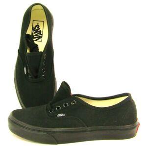 Vans Tennis Slip On Sneakers Black 508731 Low Top Shoes Womens 7