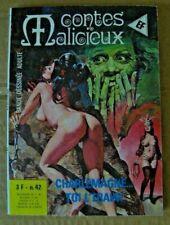 BD Adulte ELVIFRANCE Contes Malicieux n° 42 Charlemagne... Aventures/Erotisme
