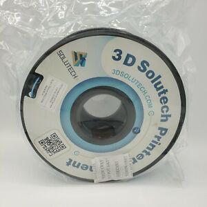 3D Solutech 3D Printer PLA Filament 1.75MM, 2.2 LBS (1.0KG) Lot 2006002 NO BOX