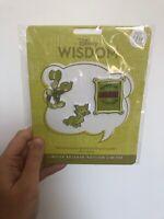 Disney Wisdom Pins Limited Edition July: Jiminy Cricket/Pinocchio 7/12