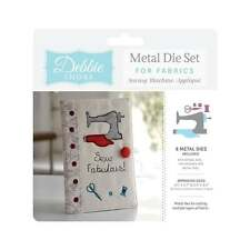 Crafters Companion Debbie Shore SEWING MACHINE Applique Fabric Dies