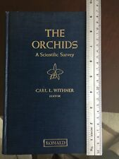 CARL L. WITHNER 1959 FIRST EDITION BOOK ~THE ORCHIDS A SCIENTIFIC SURVEY~ RONALD