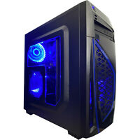 Intel i7 Gaming Desktop PC Computer 2TB 16GB SSD GeForce GTX 1060 HDMI New Fast