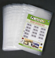 Buste goffrate  in nylon politene uso alimentare 25 sacchetti cm 30x40 sottovuot