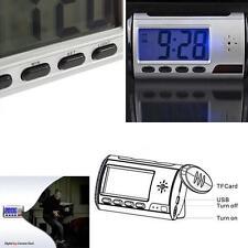 Digital Clock Hidden Camera Alarm Spy Dvr/Usb Motion Alarm Recorder CamcorderKjc