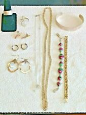 Stunning Sterling Silver Lot of 10 pieces of jewelry      112