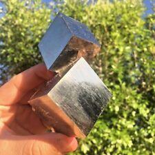 Natural Cubic Pyrite cluster from Navajun, La Rioja, Spain - Crystals #1068