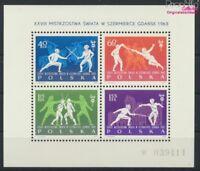 Polen Block29 (kompl.Ausg.) postfrisch 1963 Fechten (9063280
