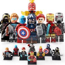 Marvel EndGame - Hawkeye War Machine Nebula Thor Figure Building Blocks Toys Kid