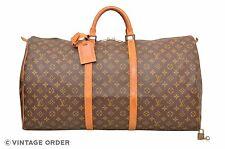 Louis Vuitton Monogram Keepall 60 Travel Bag M41422 - D00755