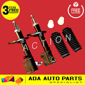 2 x HYUNDAI EXCEL X3 FRONT GAS STRUTS SHOCK ABSORBERS 10/94-00