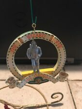 Enesco Christmas Ornament: The Tin Man from Wizard Of Oz Series 1989 new
