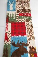 FULL UNCUT MULTI-COLOR CHRISTMAS  Print Cotton Kitchen Towel