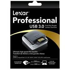 Lexar Lettore Professional USB 3.0 Dual-Slot UDMA Reader SDHC CF