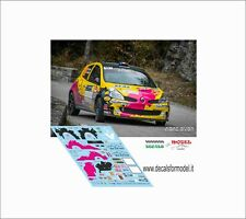 DECALS 1/43 RENAULT CLIO R3 POIZOT RALLY MONTECARLO 2017