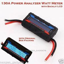 NEW 60V 130A DC Power Analyzer Watt Meter Solar Digital Battery Monitor Backlit