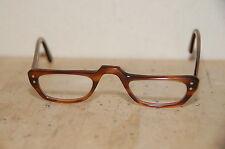 """""""VAM"""" 50-60s Brown Retro Reading Eyeglasses Glasses"""