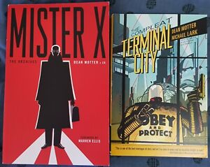 Mister X: The Archives + The Compleat Terminal City - 2 x Dean Motter Dark Horse