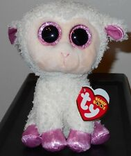 """Ty Beanie Boos ~ TWINKLE the 6"""" Easter Lamb ~Plush Toy (2017 NEW) ~ IN HAND"""