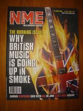 NME 1998 JUN 13 BRIT POP GARBAGE SHED 7 ASH DR JOHN