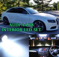 Audi A4 B8 A5 Interior LED PURE XENON WHITE INTERIOR LIGHTS BULBS KIT SET