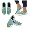 Almond Branches in Bloom Van Gogh Art Slip-on Canvas Women's Shoes US Size 6-12
