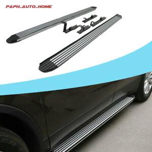 2Pcs Fits for Volkswagen VW Touareg 2011-2018 Side Steps Running Board Nerf Bars
