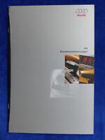 Audi A3 - Sonderausstattungen MJ 1997 - Prospekt Brochure 11.1996