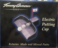 TOMMY ARMOUR GOLF GS003 Electric Putting Cup Returns Ball Back Comes With 5 Ball