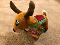 "Sugar Loaf Santa's Reindeer CUPID Plush Stuffed Animal 13"" New Christmas 2013"