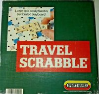 Vintage Travel Scrabble Board Game By Spears Games 1021 - 6 Tiles Missing