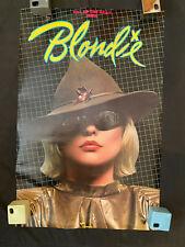 1979 Blondie Eat to the Beat promo poster Chrysalis records Debbie Deborah Harry