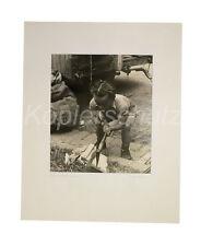 Liliputaner Zwerg, Kleinwüchsiger, Zirkus orig. Fotografie H. Blanck, 50er Jahre