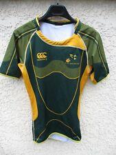 Maillot rugby A.S SAINT-JEAN 2008 2009 porté n°3 CANTERBURY shirt S