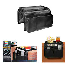 6 Pocket Sofa Couch Arm Chair Rest Remote Control Organizer Storage Holder Black