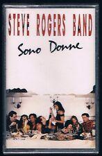 STEVE ROGERS BAND SONO DONNE (MASSIMO RIVA) MC K7 MUSICASSETTA SIGILLATA!!!