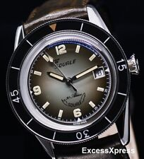 Brand NEW Squale 30 ATMOS Tono-Argento 60th-anniversary Watch with Warranty