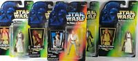 Lot Of 5 New, Sealed & Open Kenner Star Wars Power Of The Force Action Figures z