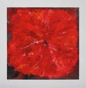 Armando - Die Blume - handsigniert und nummeriert