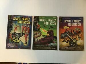 Space Family Robinson Silver Age Lot: 5 6 9 Gold Key